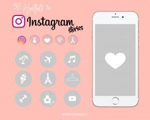 iconos instagram gris