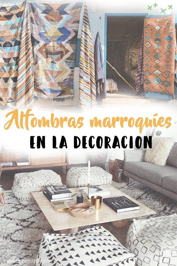 6 Lugares en los que poner alfombras marroquíes