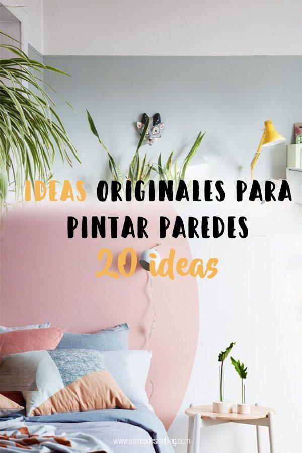 20 ideas para pintar una pared