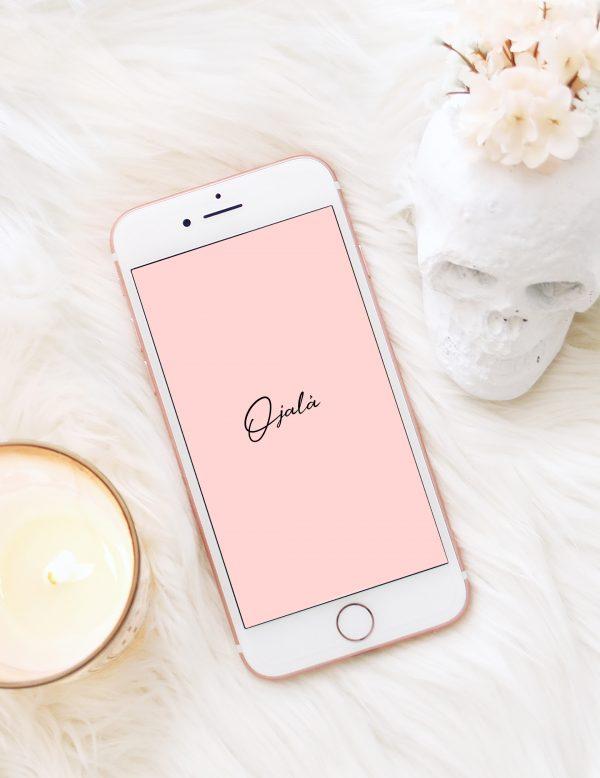 Ojalá – Free phone wallpaper